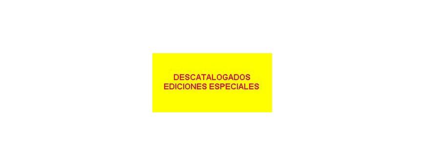 Descatalogados-Ediciones Especia