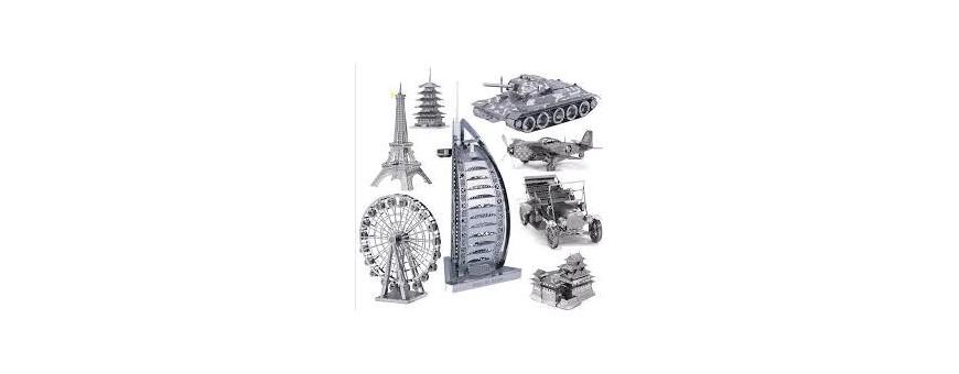 Puzzle 3D Metalicos